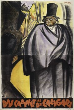 Cabinet of Dr. Caligari, c.1919  Poster by Theo Matejko & Marcell Vértes for the Vienna premiere