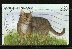 Finland used Cat stamp - bidStart (item 29391870 in Stamps, Europe, Finland & Aland, Finland)