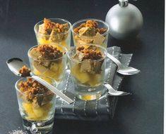 foie gras met lauwwarme appel en crumble van peperkoek. Foie Gras, Punch Bowls, Tapas, Food And Drink, Pudding, Desserts, Cocktail, Food And Drinks, Food Food