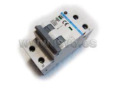 Interruptor automático magnetotérmico (MCB) 1P+N (40A) Electro dh 78.100/1N/40 - 6kA Clase C - Tensión nominal: 230 Vac~ #electricidad #electricista #jsventaonline www.jsvo.es