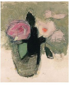 View Red roses in a glass bowl by Helene Sofia Schjerfbeck on artnet. Browse upcoming and past auction lots by Helene Sofia Schjerfbeck. Helene Schjerfbeck, Art Floral, Rose Vase, Art Et Illustration, Still Life Art, Paintings I Love, Oeuvre D'art, Painting Inspiration, Painting & Drawing