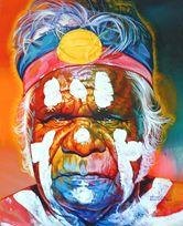 Faces from Australia by Stephen Bennett - The Portrait Painter