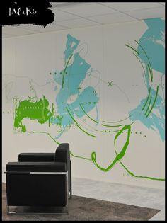mel-et-kio-oeuvres-murale-entreprise-sur-mesure-corporate-neopost