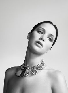 Miss Dior Spring 2013: Jennifer Lawrence photographed by Willy Vanderperre.  Photos courtesy of Dior
