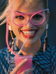 i would like those spectacles! the-front-row: Daphne Groeneveld for Antidote Magazine Spring/Summer 2013: The Street Issue by Hans Feurer