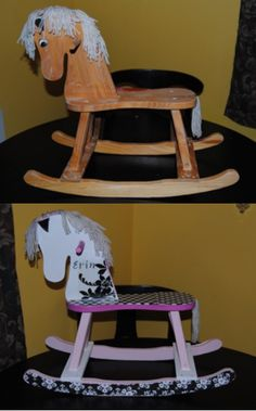 Wooden Rocking Horse Re-Do