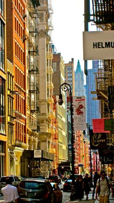 Shopping in SOHO, NYC