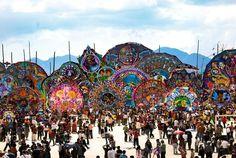 Barriletes gigantes guatemala