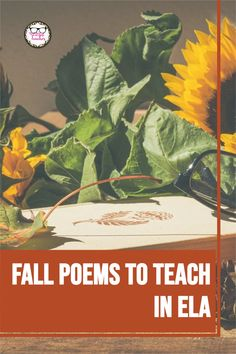 Enjoy adding these lovely autumn poems to your poetry study unit in ELA this season.