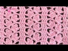 A CROCHET: Puntada Racimos (Bouquet of Flowers Stitch) - YouTube