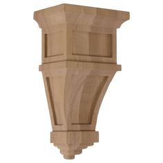 Ekena Millwork 6-in x 11-in Maple Alpine Wood Corbel