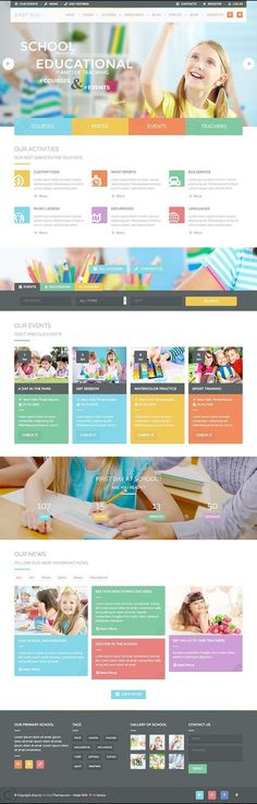Baby Kids Education & Learning WordPress Theme - WPExplorer