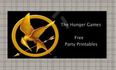The Hunger Games: Free Party Printables
