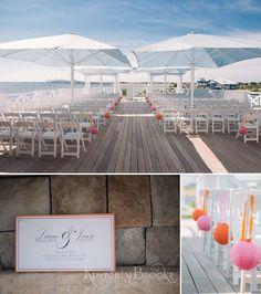 Chesapeake Bay Beach Club Wedding Kimberly Brooke Photography