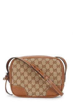 4e02c22467dc Bree monogrammed oak leather cross-body bag - Women Gucci Designer, Vintage  Gucci,