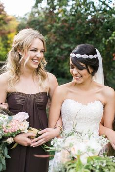 What happens when you're yearning for an outdoor wedding in the middle of November? Think moss, branches, stones and all the woodland goodness you can imagine. Brown Bridesmaid Dresses, Wedding Dresses, Cream Wedding, Wedding 2015, Wedding Ideas, Indoor Wedding, Style Me, Wedding Invitations, Pretty