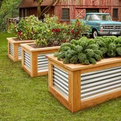 How to Build Raised Garden Beds - - If you've always liked the look of raised garden boxes, now is your chance to finally get out and build them. They provide a rich aesthetic to your yard and ease and convenience when gardening.