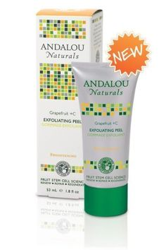 Kombucha Enzyme Exfoliating Peel Andalou Naturals 1.8 oz oz Liquid by Andalou Naturals. $8.64. Andalou Naturals. Andalou Naturals Advanced Fruit Stem Cell Science renews skin at the cellular level, blending nature and knowledge for visible Brightening results. Kombucha Enzyme Exfoliating Peel by Andalou Naturals 1.8 oz oz Liquid Kombucha Enzyme Exfoliating Peel 1.8 oz oz Liquid For Active Oily Skin Formerly known as our Grapefruit C Exfoliating Peel Andalou Naturals Fruit St...