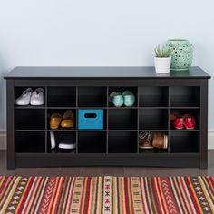 Amazon.com - Baxton Studio Warren Shoe-Storage Cabinet, Espresso ...