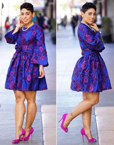 DIY Dress made from courses in the Sew It Academy. African Attire, African Wear, African Dress, African Print Fashion, African Fashion Dresses, Dress Fashion, Look Fashion, Diy Fashion, Womens Fashion