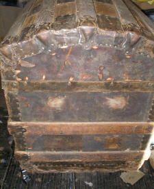 Restoration Procedures and Information is part of Antique steamer trunk - Wooden Trunks, Old Trunks, Vintage Trunks, Trunks And Chests, Antique Trunks, Trunk Makeover, Antique Furniture Restoration, Steamer Trunk, Diy Furniture Projects