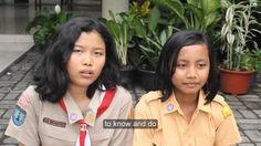 Kids On Religion, Yogyakarta, Indonesia
