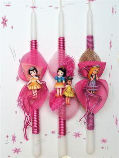 Πασχαλινές λαμπάδες Disney Princess.