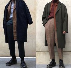 Really great mens fashion trends . - Really great mens fashion trends …. Looks Dark, Looks Cool, Mode Outfits, Fashion Outfits, Womens Fashion, Fashion Trends, Fashion Coat, Fashion Pants, Color Fashion