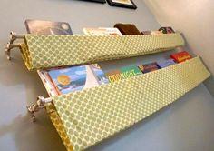 14 façons d'utiliser les tringles à rideaux décoratives, autre... que pour suspendre des rideaux! - Trucs et Astuces - Trucs et Bricolages