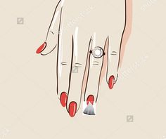 tulle on nails for bachelorette