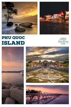 Things to do in Phu Quoc Island - with Kids or without – The Travelling Twins Vietnam Travel, Thailand Travel, Asia Travel, Visit Vietnam, Luang Prabang, Travel With Kids, Family Travel, Group Travel, Laos