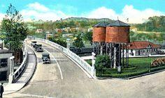 Cambridge, Ohio viaduct 1925