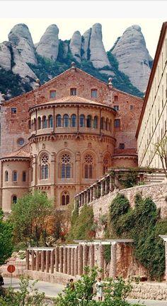 Benedictine Monastery, Monserrat, Barcelona, Spain , from Iryna