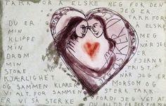 Bjørg Thorhallsdottir - KRANE GALLERI & RAMMEVERKSTED AS Art Quotes, Fonts, Posters, Amor, Frases, Designer Fonts, Font Downloads, Poster, Postres