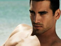 Diego's smolding green gaze, inspiration: Cuban actor/model Ruben Cortada