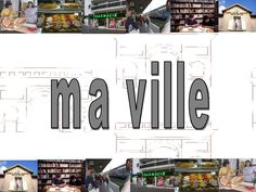 La-ville- un peu de vocabulaire... by iesdragobil via Slideshare Core French, French Class, French Teacher, Teaching French, Social Studies Communities, French Worksheets, French Resources, French Immersion, French Words