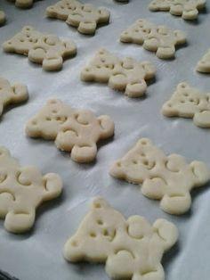 biscoitos de ursinho