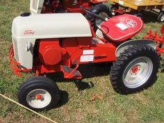 Custom Built Garden Tractors   It's only money, you make more every day.
