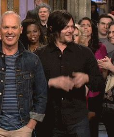 Norman Reedus on Saturday Night Live - Reedus. Stop being so stinkin' adorable. I beg you. It is a problem.