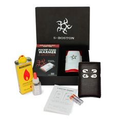 [S-Boston] Hybrid Pocket Hand Warmer Electric Ignition Oil Fuel 15Hr (Gift Pack)
