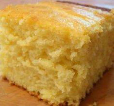 """Sweet Cornbread: """"This is the perfect cornbread. I've tried so many recipes that are either too sweet or too bland. I will be using this recipe from now on!"""" -Bittersweetened"""