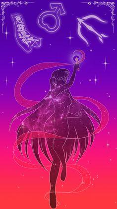 Sailor Mars Lockscreen by SMeadows.deviantart.com on @DeviantArt