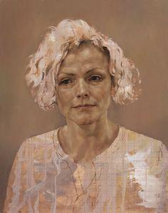 Maxine Peake door Jonathan Yeo - voor Jonathan Yeo Portretten bij The Lowry