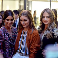 Camila Coelho, Olivia Palermo, and Thassia Naves in Asuncion, Paraguay April 29, 2015