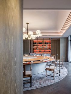 Furniture O Fallon Il Hotel Lounge, Restaurant Lounge, Restaurant Design, Shenzhen, Lounge Design, Dining Room Paint Colors, Chinese Interior, Private Dining Room, Marriott Hotels