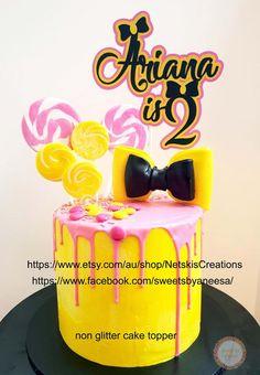 Custom Cake Topper Emma Wiggle   Etsy Wiggles Birthday, 1st Birthday Cake For Girls, Wiggles Party, First Birthday Cakes, 2nd Birthday, Birthday Ideas, Wiggles Cake, The Wiggles, Custom Cake Toppers