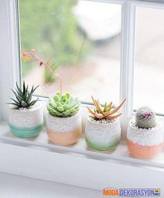 Pencere Önü Çiçek Dekorasyonları | Moda Dekorasyon