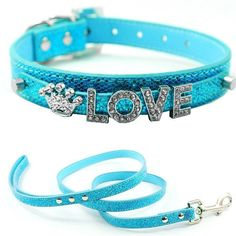 Brand Name: MychangMaterial: PU LeatherPattern: SolidUsage: Collars & LeadsProduct ID: 5 Charms Leave a message during checkout so we know what 5 letters and 2 charms you would like - View product photos for examples Online Pet Supplies, Dog Supplies, Diy Letters, Pet Id Tags, Pet Store, Turquoise Bracelet, Dog Lovers, Collars, Kittens