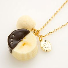 Banana Choco Necklace. I have this as a gift from Anna.  I love this one so much.
