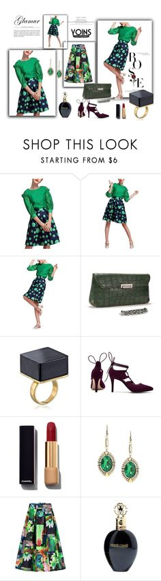 """Yoinscollection 24"" by ernyy ❤ liked on Polyvore featuring Chanel, Roberto Cavalli, women's clothing, women's fashion, women, female, woman, misses, juniors and yoins"